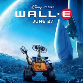 WALL-E is listed (or ranked) 13 on the list Animated Movies That Make You Cry the Most