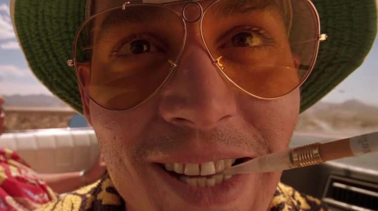 Johnny Depp Slept In A Basement With Live Gunpowder For 'Fear And Loathing In Las Vegas'