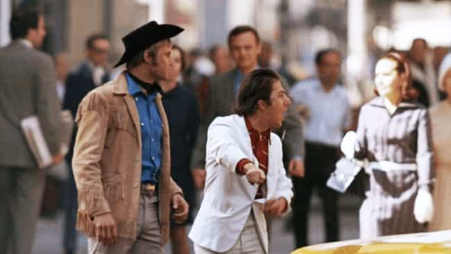 Midnight Cowboy is listed (or ranked) 3 on the list 14 Movie Moments Where Actors Weren't Acting