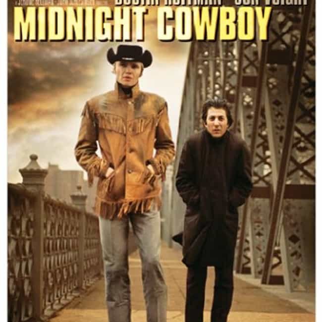 Midnight Cowboy is listed (or ranked) 4 on the list 25 Things You Love That Were Accidents
