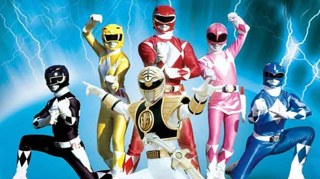Mighty Morphin Power Ran... is listed (or ranked) 2 on the list The Best Power Rangers Series Ever Made
