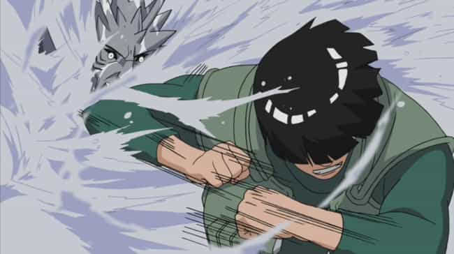 Might Guy is listed (or ranked) 1 on the list The 13 Greatest Taijutsu Users In 'Naruto'