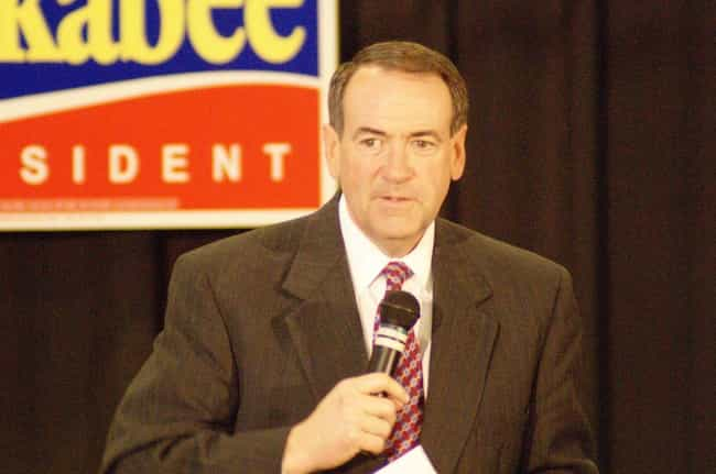 Mike Huckabee is listed (or ranked) 5 on the list 33 Celebrities Who Were in Tau Kappa Epsilon
