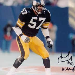 Mike Merriweather is listed (or ranked) 15 on the list The Best Pittsburgh Steelers Linebackers of All Time