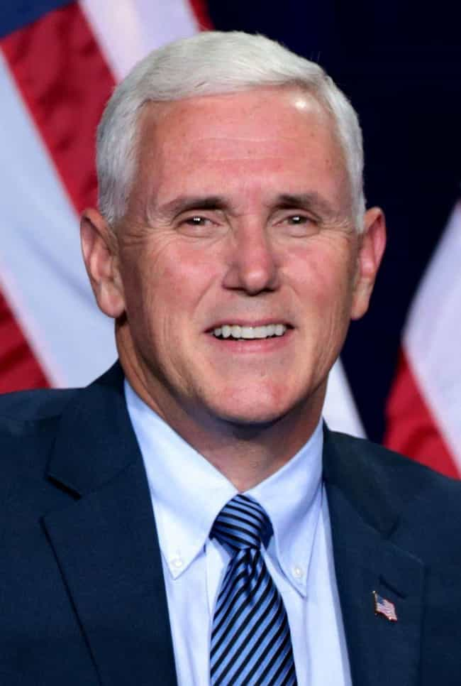 Mike Pence is listed (or ranked) 1 on the list Famous People You Didn't Know Were Evangelical Christians