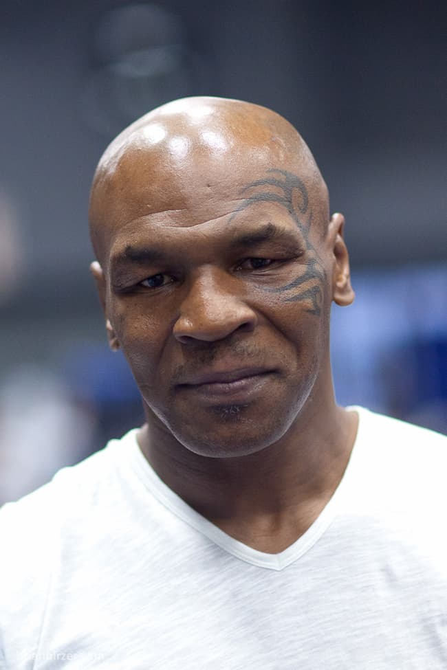 Mike Tyson is listed (or ranked) 2 on the list 20 People You May