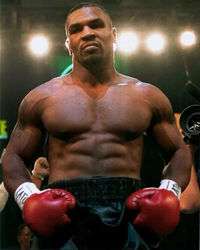 Mike Tyson is listed (or ranked) 1 on the list The Most Intimidating Athletes in Recent Memory