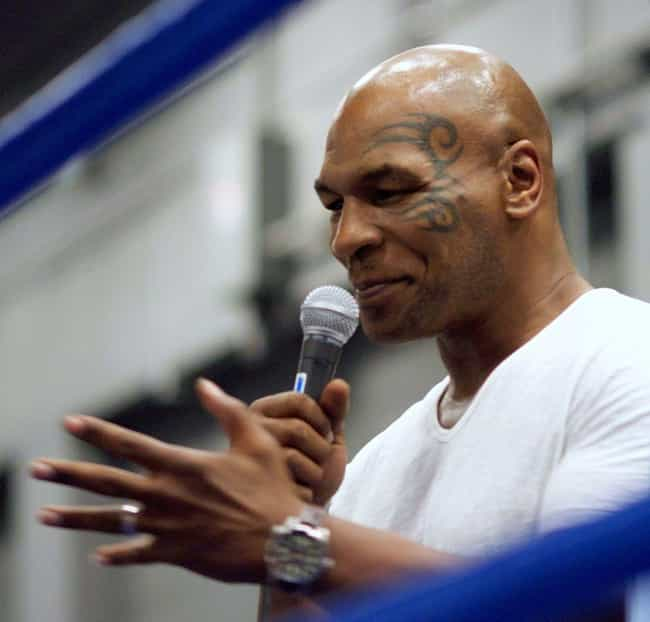 Mike Tyson is listed (or ranked) 3 on the list Athletes Who Were Sex Addicts