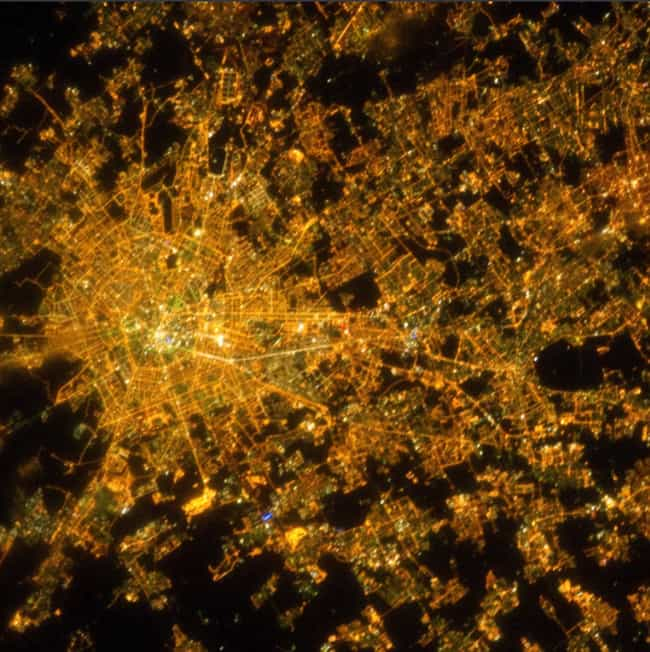 Milan is listed (or ranked) 1 on the list Unbelievably Beautiful Photos Of Cities At Night (As Seen From 250 Miles Up)