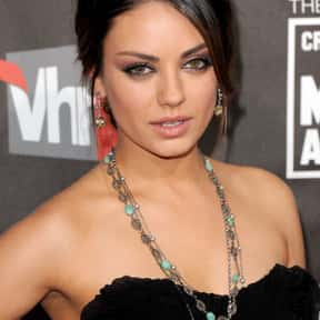 Mila Kunis is listed (or ranked) 6 on the list Celebrities Who Are Secret Geeks