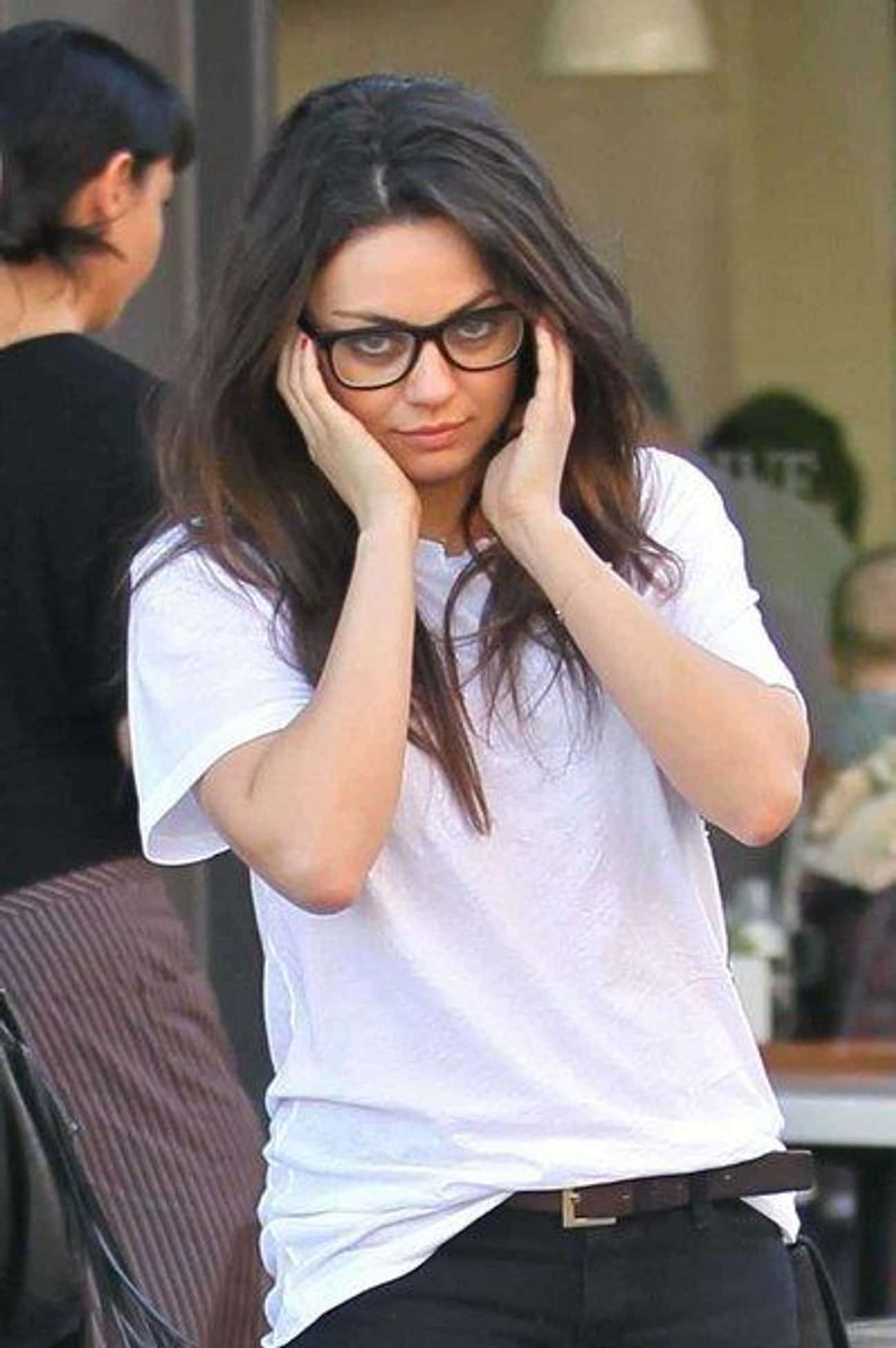 Mila Kunis is listed (or ranked) 4 on the list The Sexiest Famous Girls Who Wear Glasses