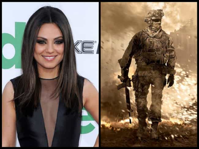 Mila Kunis is listed (or ranked) 3 on the list 15 Celebrities Who Play Call of Duty
