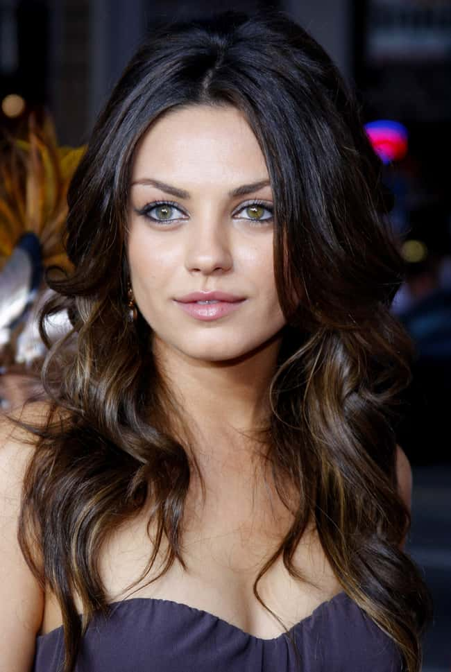 Mila Kunis is listed (or ranked) 11 on the list The Most Captivating Celebrity Eyes (Women)