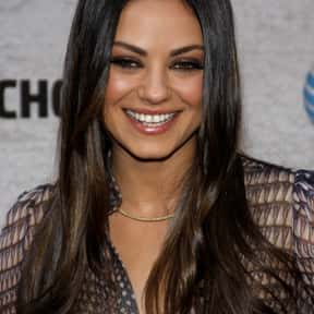 Mila Kunis is listed (or ranked) 10 on the list The Most Beautiful Women In Hollywood