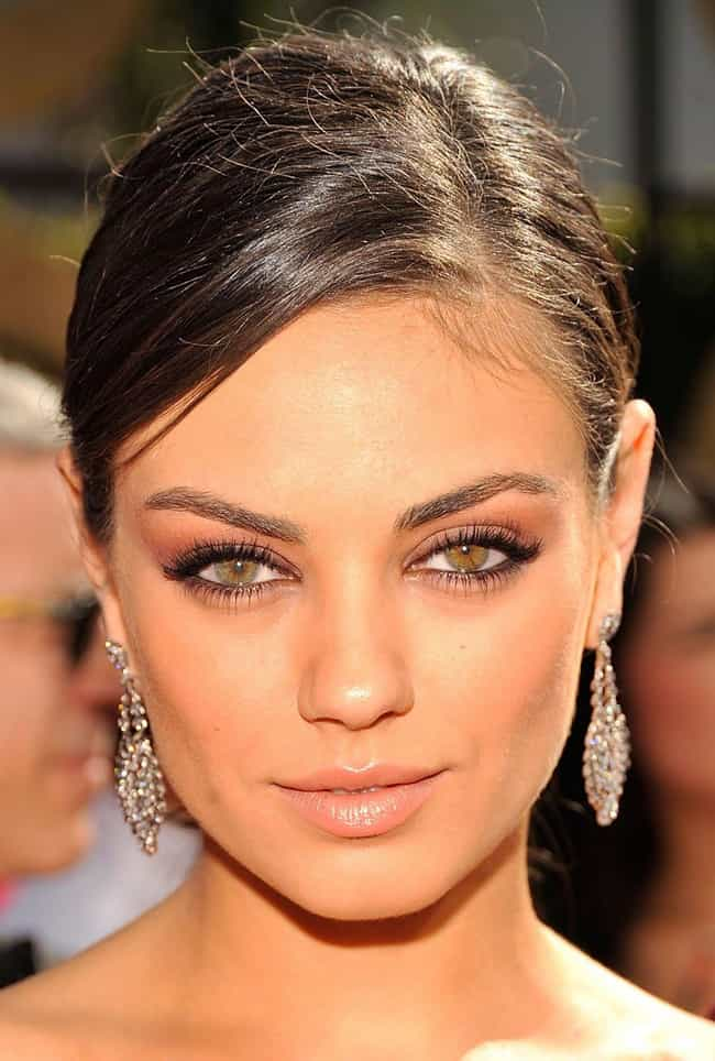 Mila Kunis is listed (or ranked) 3 on the list The Most Captivating Celebrity Eyes (Women)