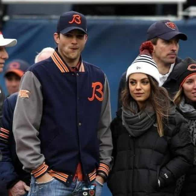 Mila Kunis is listed (or ranked) 1 on the list Celebrity Fans of the Chicago Bears