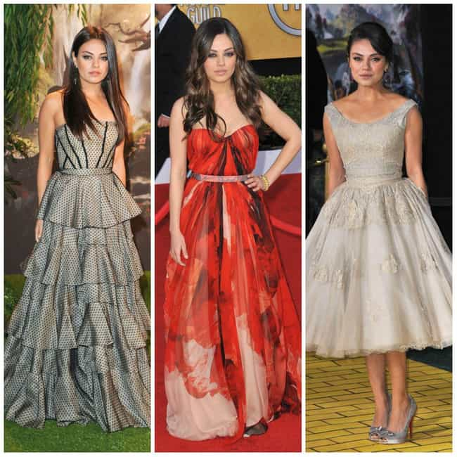 Mila Kunis is listed (or ranked) 3 on the list The Most Stylish Female Celebrities