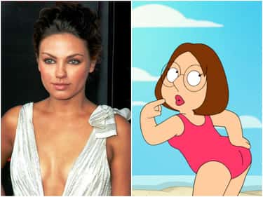 Mila Kunis is listed (or ranked) 2 on the list Famous People Who Voiced Cartoon Characters