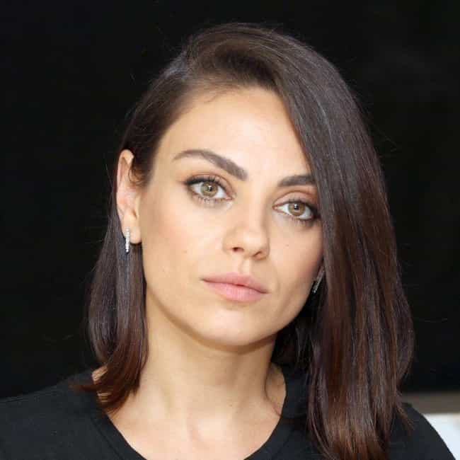 Mila Kunis is listed (or ranked) 4 on the list The Most Beautiful Celebrities Of Our Time
