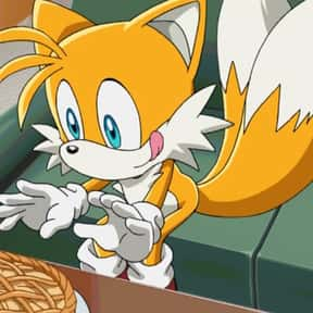 "Miles ""Tails"" Prower is listed (or ranked) 7 on the list The Greatest Fox Characters of All Time"