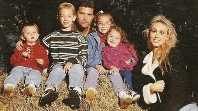 Miley Cyrus is listed (or ranked) 3 on the list Celebrity Family Photos That Are Almost Too Awkward to Handle