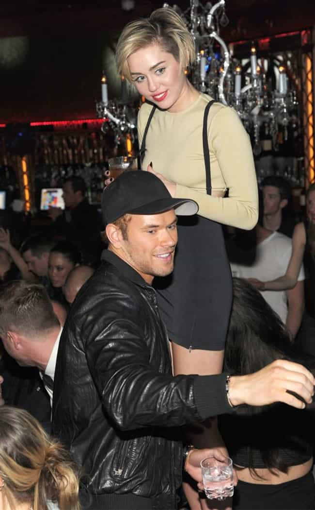 Miley Cyrus is listed (or ranked) 1 on the list Kellan Lutz's Loves & Hookups