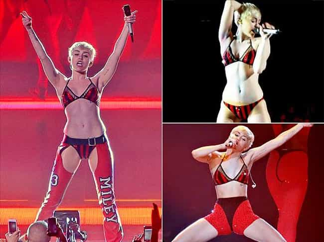 Miley Cyrus is listed (or ranked) 2 on the list 18 Celebrities Who Have Worn Assless Chaps