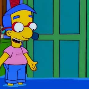 Milhouse Van Houten is listed (or ranked) 10 on the list Awkward TV Characters We Can't Help But Love