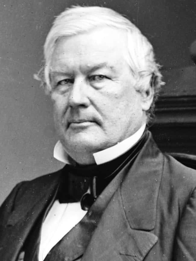 Millard Fillmore is listed (or ranked) 13 on the list Every U.S. President & Every Medical Problem They've Ever Had