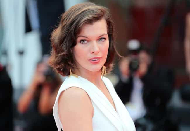 Milla Jovovich is listed (or ranked) 2 on the list The 33 Most Stunning And Odd-Looking Women