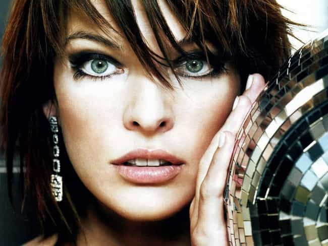 Milla Jovovich is listed (or ranked) 2 on the list The 34 Hottest Odd-Looking Women