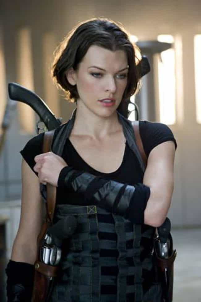 Milla Jovovich is listed (or ranked) 2 on the list The Sexiest Women in Action Movies