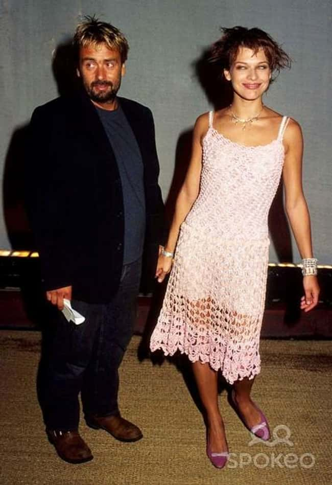 Milla Jovovich is listed (or ranked) 33 on the list 48 Famous Couples with Huge Age Differences
