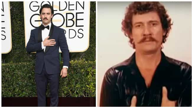 Milo Ventimiglia is listed (or ranked) 6 on the list People Who Looked Like Things at the 2017 Golden Globes