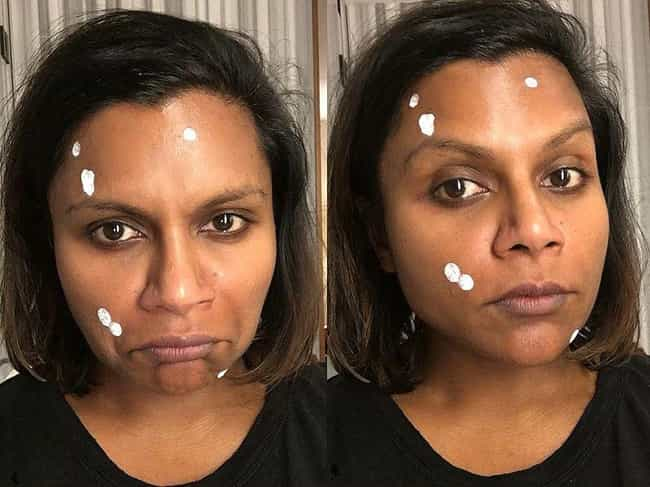Mindy Kaling is listed (or ranked) 4 on the list Famous People Describe Their Every Day Struggles With Acne And Skincare