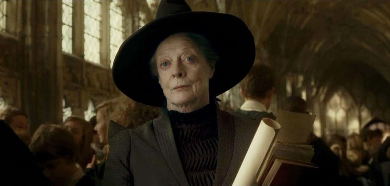 Minerva McGonagall - Lawful Go is listed (or ranked) 4 on the list Harry Potter Alignment Chart: Here's Where Our Favorite Characters Land
