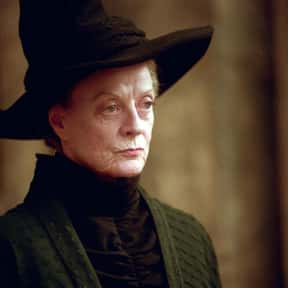 Minerva McGonagall is listed (or ranked) 1 on the list The Greatest Harry Potter Characters, Ranked