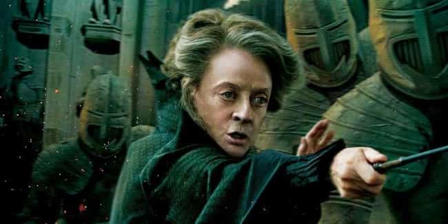 Professor Minerva McGonagall is listed (or ranked) 4 on the list The Most Powerful Wizards In The 'Harry Potter' Franchise, Ranked