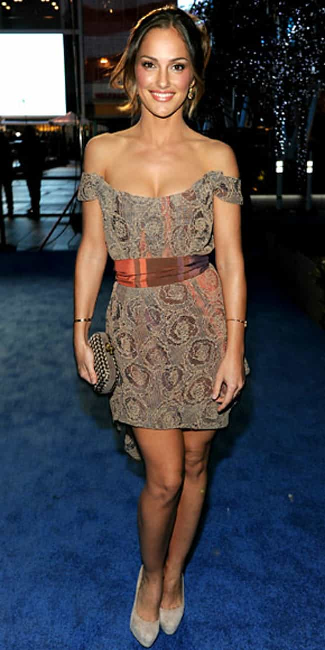 Minka Kelly is listed (or ranked) 4 on the list Celebrities in Vivienne Westwood Dresses