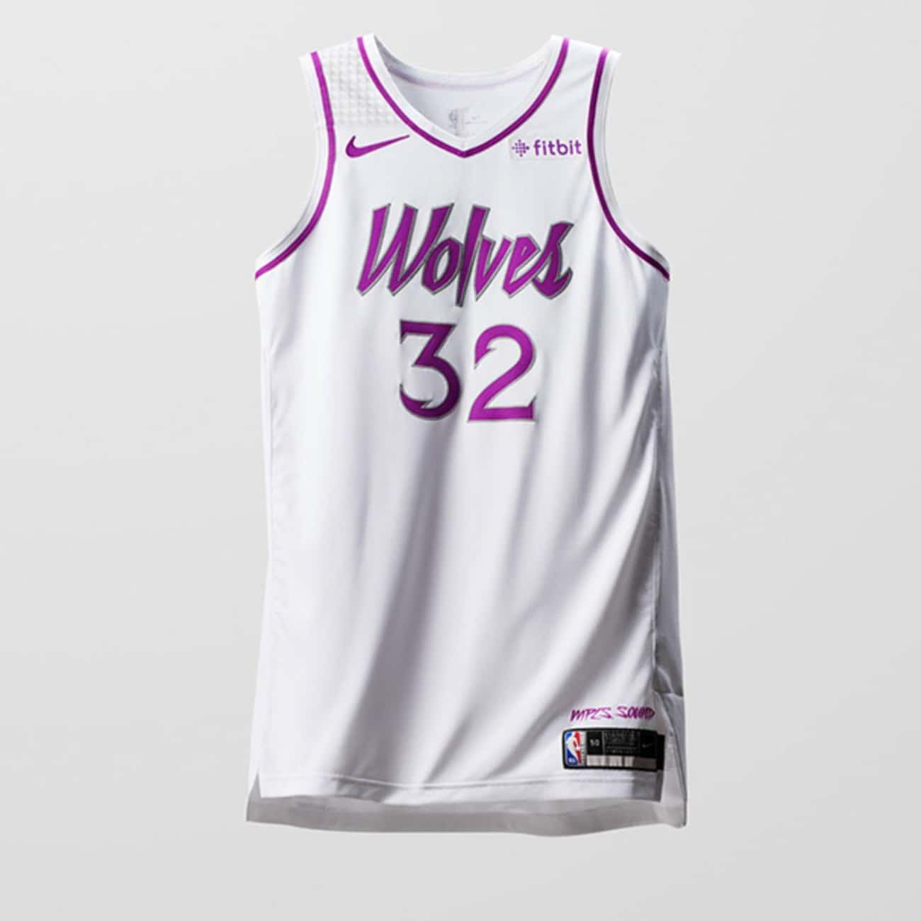 """Minnesota Timberwolves is listed (or ranked) 1 on the list The Coolest NBA """"Earned Edition"""" Jerseys"""