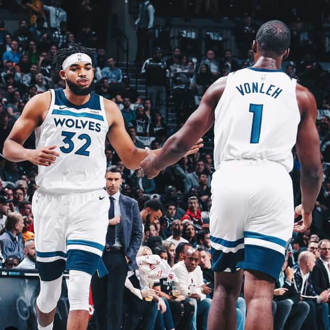 Minnesota Timberwolves is listed (or ranked) 4 on the list Which NBA Team Will Be Next To Win Their First Championship?