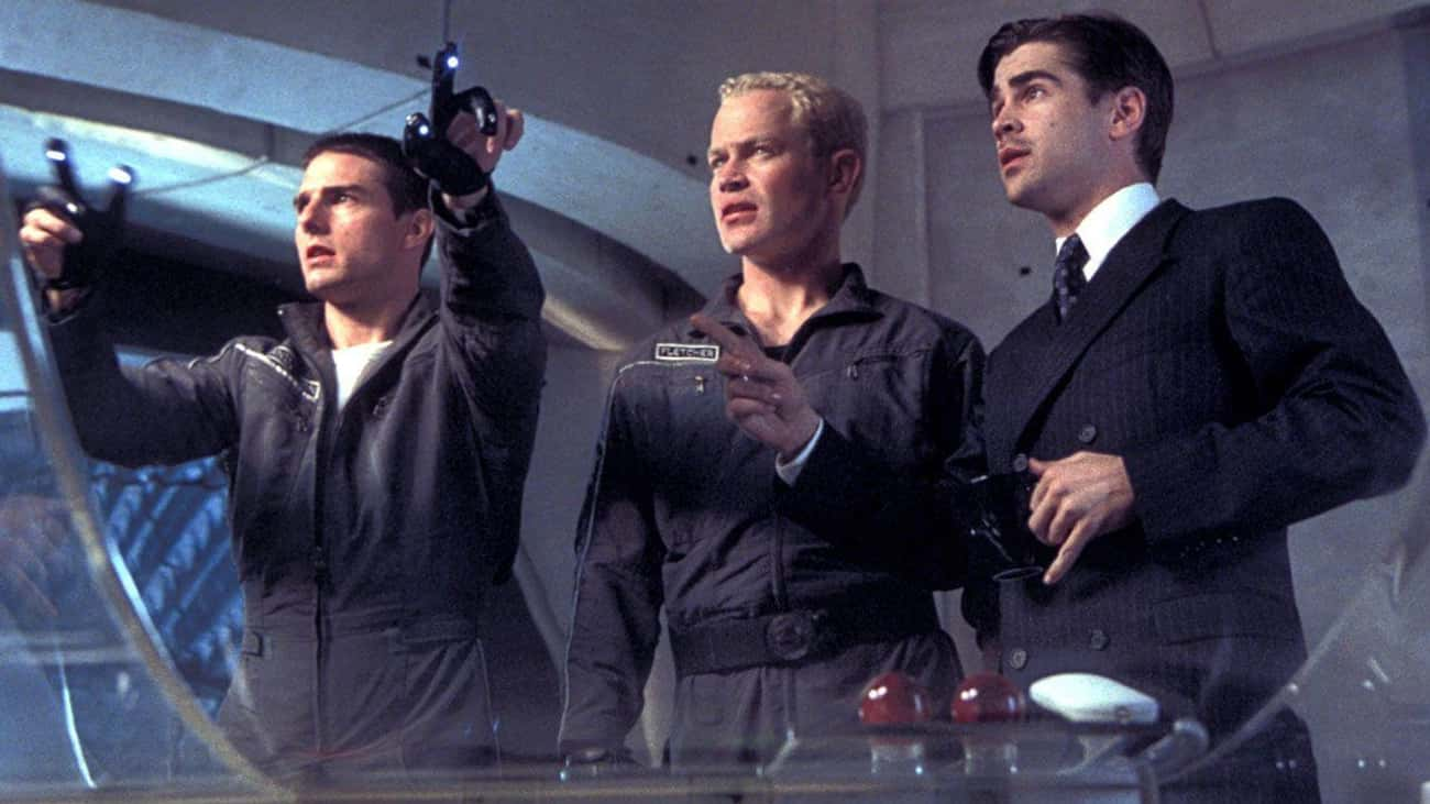 Minority Report is listed (or ranked) 4 on the list Movies That Should Have Ended Two Scenes Earlier Than They Did