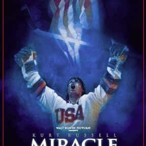 Miracle is listed (or ranked) 4 on the list The Best Sports Movies About Coaches