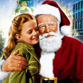 Miracle on 34th Street is listed (or ranked) 13 on the list The Best Christmas Movies of All Time
