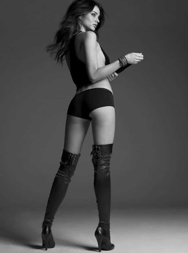 Miranda Kerr is listed (or ranked) 1 on the list Women Will Notice The Stylish Boots,Us Men See The Hot Girls