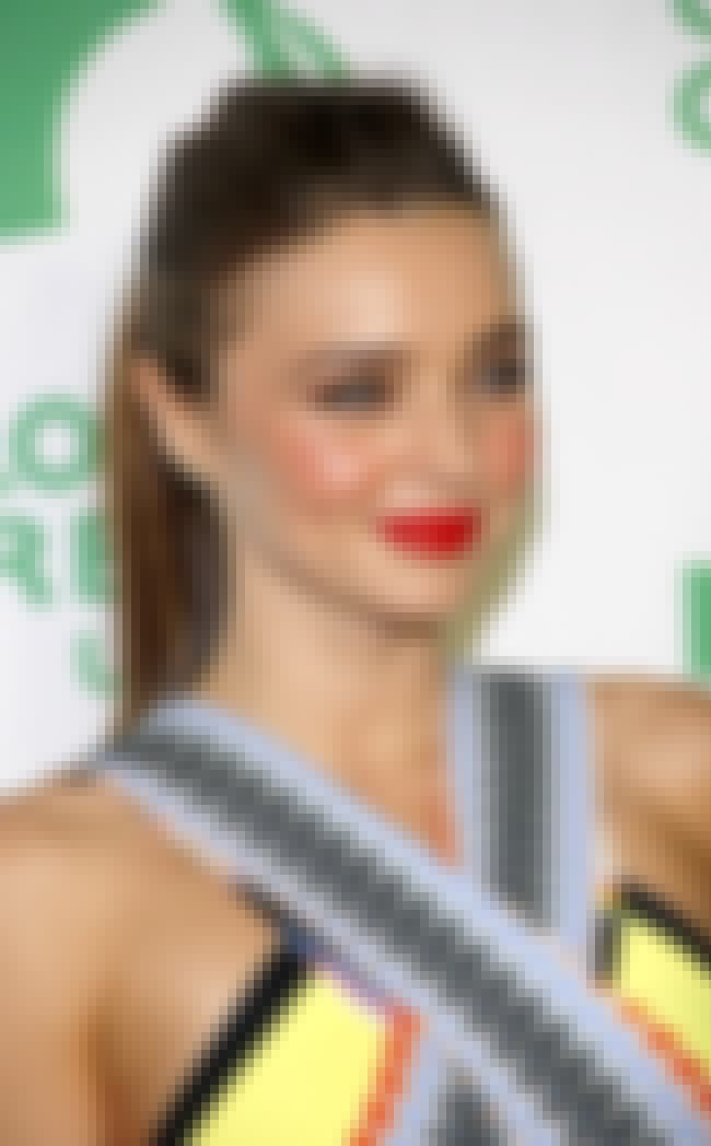 Miranda Kerr is listed (or ranked) 4 on the list Famous Celebrities Who Are Gluten Free