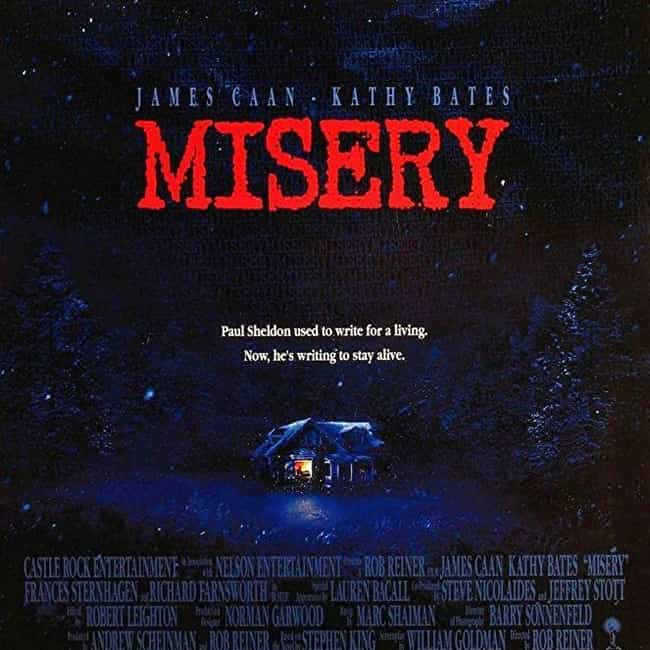 Misery is listed (or ranked) 3 on the list The Greatest Suspense Movies