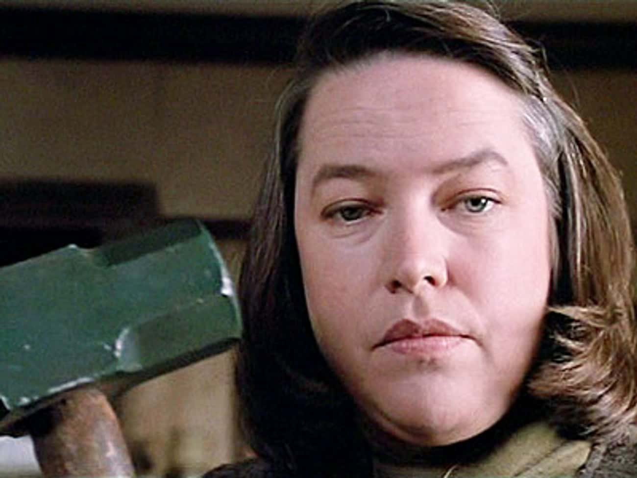Misery is listed (or ranked) 4 on the list The Best Movies Based on Stephen King Books