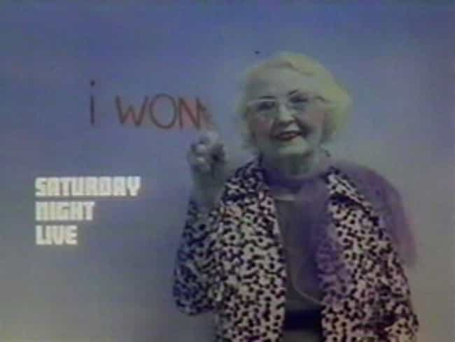 Miskel Spillman is listed (or ranked) 3 on the list Oldest SNL Hosts Ever