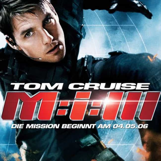 Mission: Impossible III is listed (or ranked) 3 on the list Bad Robot Productions Movies List